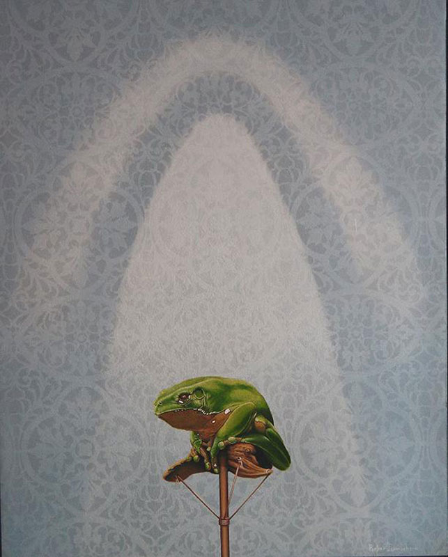 Giant Monkey Tree Frog by Bob 'Omar' Tunnoch