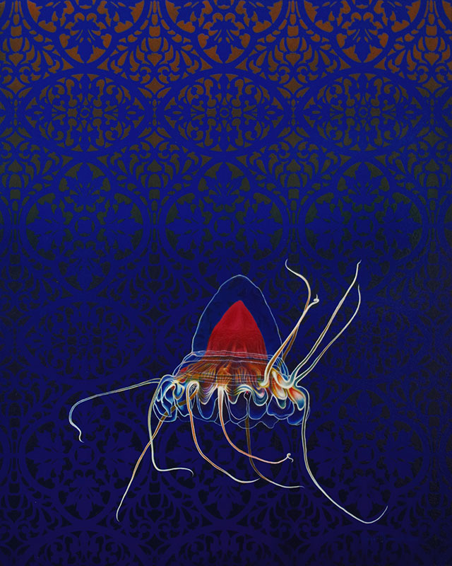 Bloodcomb Jellyfish by Bob 'Omar' Tunnoch